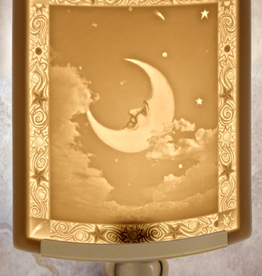 Rare Earth Gallery MAN IN THE MOON (Lithophane Nightlight)
