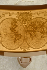 Rare Earth Gallery OLD WORLD MAP (Lithophane Nightlight)