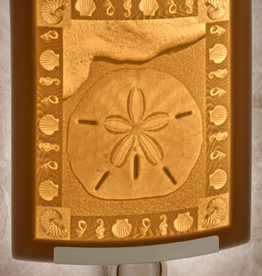 Rare Earth Gallery SAND DOLLAR (Lithophane Nightlight)