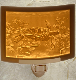 Rare Earth Gallery SEA TURTLE (Lithophane Nightlight)