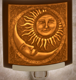 Rare Earth Gallery SUN AND MOON (Lithophane Nightlight)