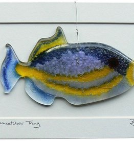 "Rare Earth Gallery TRIGGERFISH (6""x3"" Suncatcher)"