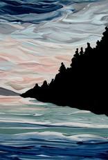 "Rare Earth Gallery The Thaw (Original Acrylic, 4"" SQ)"