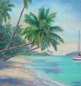 Ruthann Hewson Caribbean Isle (Print, Matted, 11x14)