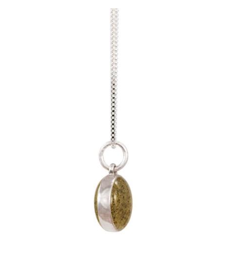 Rare Earth Gallery Necklace, Sandglobe