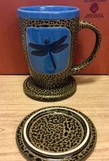 Rare Earth Gallery DRAGONFLY (Mug w/Lid)
