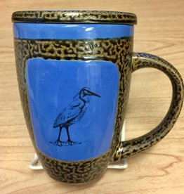 Rare Earth Gallery EGRET (Mug w/Lid)