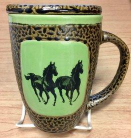 Rare Earth Gallery HORSE (Double, Mug w/Lid)