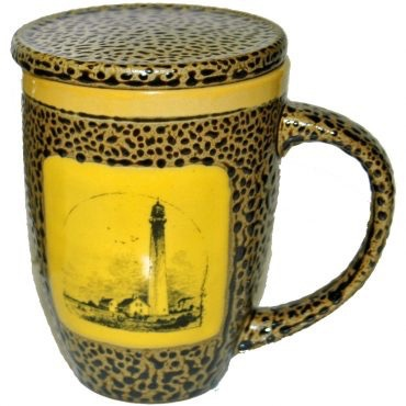 Rare Earth Gallery LIGHTHOUSE (Mug w/Lid)