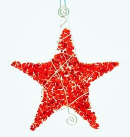 Rare Earth Gallery STAR SPRINKLE ORNAMENT
