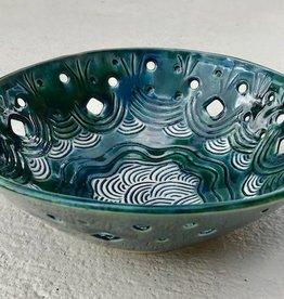 Karen Stern Bowl w/Holes (#1801)