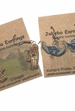 Rare Earth Gallery BUMBLEBEE (RUSTY-PATCHED, EARRINGS)