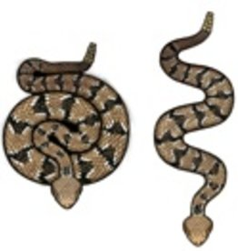 Rare Earth Gallery RATTLESNAKE (DIAMONDBACK, EARRINGS)
