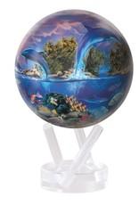 "Rare Earth Gallery SEA LIFE by ROBIN KONI (MOVA GLOBE 4.5"")"