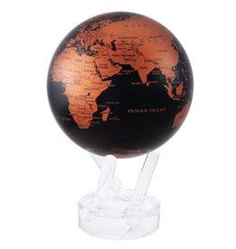 """Rare Earth Gallery BLACK & COPPER (MOVA GLOBE 4.5"""")"""