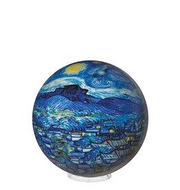 "Rare Earth Gallery STARRY NIGHT (Van Gogh, MOVA GLOBE 4"")"