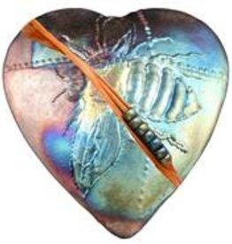 Rare Earth Gallery BUMBLE BEE (Heart, innerSpirit Rattle)