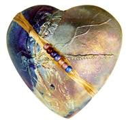 Rare Earth Gallery DRAGONFLY (Heart, innerSpirit Rattle)