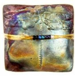 Rare Earth Gallery DRAGONFLY (Square, innerSpirit Rattle)