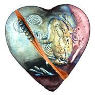 Rare Earth Gallery FROG (Heart, innerSpirit Rattle)