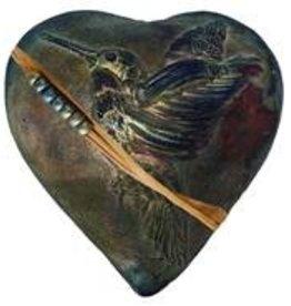 Rare Earth Gallery HUMMINGBIRD WHISPERER (Heart, innerSpirit Rattle)