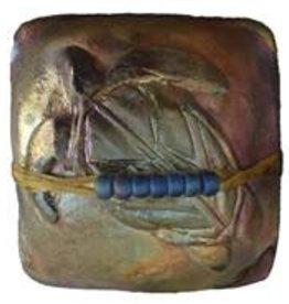 Rare Earth Gallery SEA TURTLE (Square, innerSpirit Rattle)