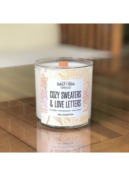 Salt + Sea Candle Co Cozy Sweaters Candle