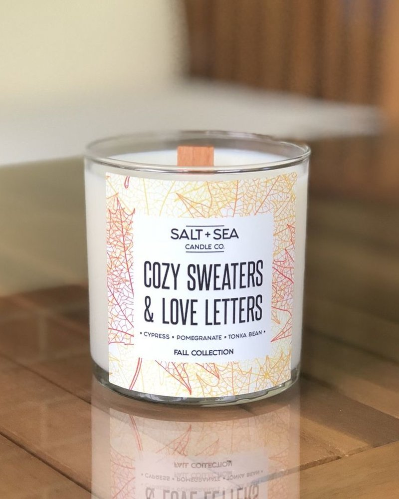 Salt + Sea Candle Co Salt + Sea Cozy Sweaters Candle