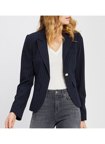 Gentle Fawn Striped Blazer