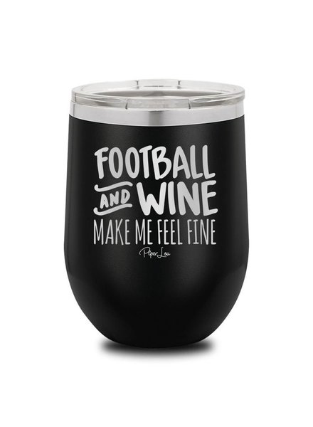 Piper Lou Football And Wine Wine Cup