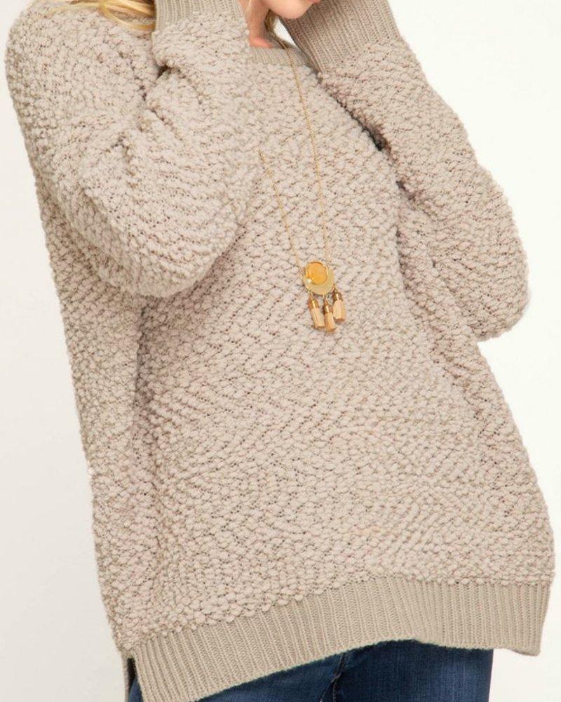She & Sky Fuzzy Sweater
