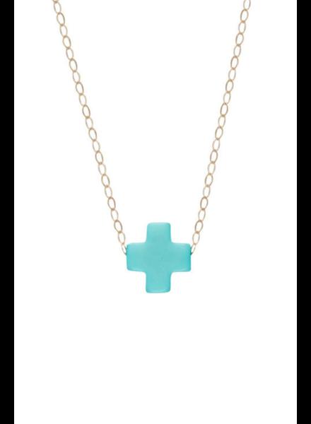 Enewton Design Turquoise Cross Necklace