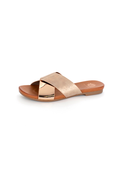 Yellowbox Shoes Metallic flat sandal
