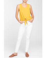 Everly Front Tie Cropped Top