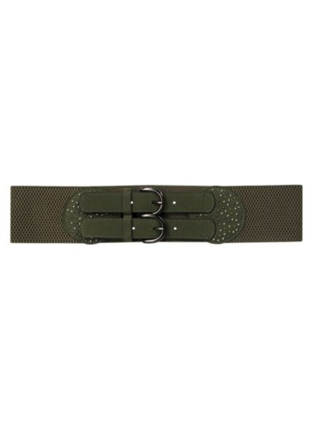 Cobalt CL tab stretch belt, Sale item/FINAL SALE, Was $40