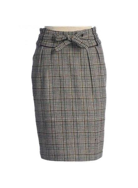 Hazel Hazel Chocolate pencil skirt