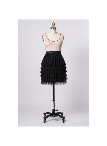 Hazel Hazel Lace Tiered Ballet Dress