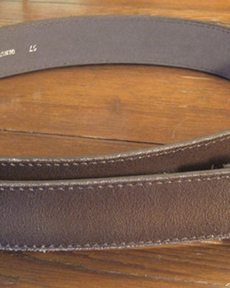Starr Luna Starr Luna Distressed Brown Belt Strap (Strap only, no buckle)