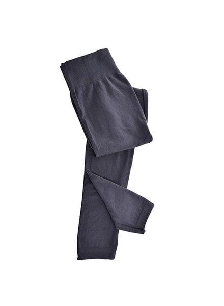 Trend Boutique Trend Fleece Lined Leggings, Grey