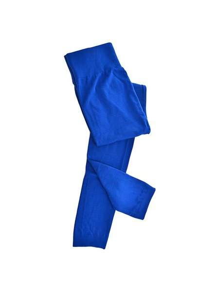 Clothing Trend Fleece Lined Leggings, Royal Blue,