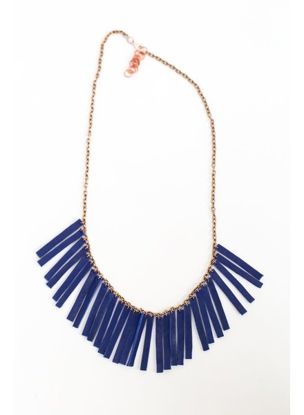 Flocktails Flocktails Donna Necklace - Blue