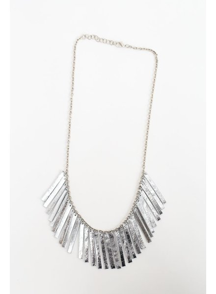 Flocktails Flocktails Donna Necklace - Bright Silver