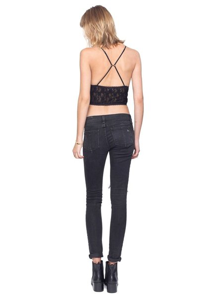 Gentle Fawn Gentle Fawn bralette black, sale item, Was $35