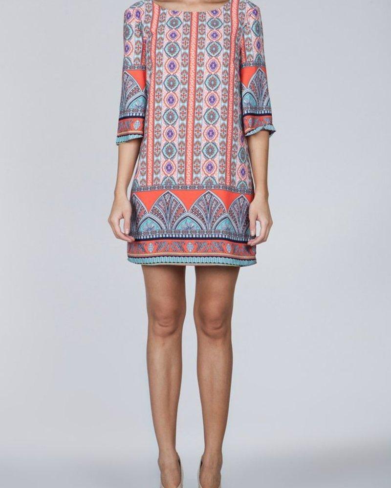 Ark & Co. Ark & Co. printed shift dress