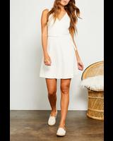 Gentle Fawn Linen Blend Wrap Dress