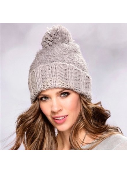 Charlie Paige Charlie Paige Hat with Pom Pom