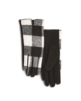 Two's Buffalo Plaid Gloves