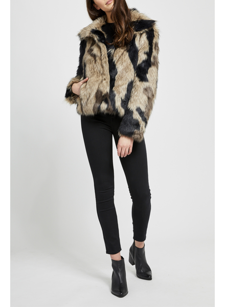 Gentle Fawn Thick Faux Coat
