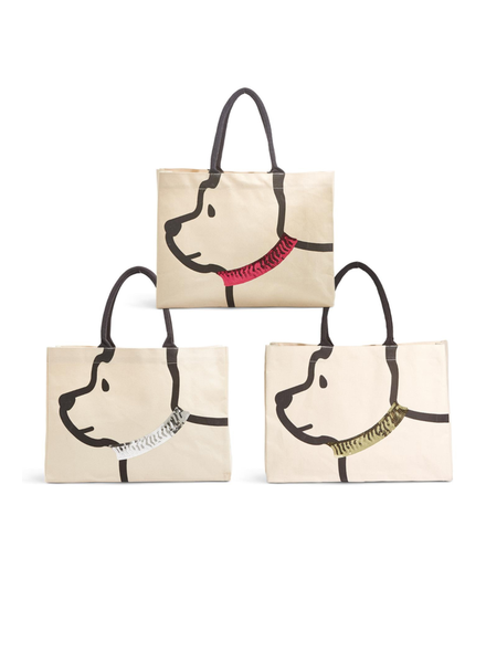 Two's Canvas Dog Bag