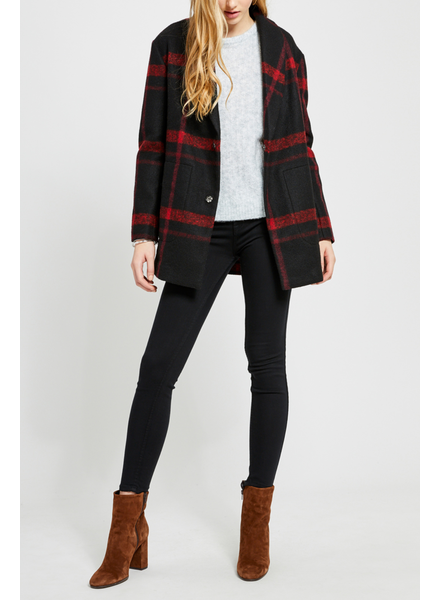 Gentle Fawn Classic plaid coat